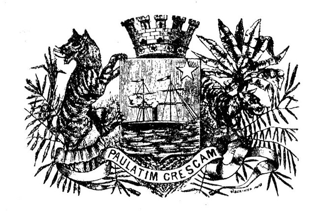 The crest of Saigon from 1870 to 1975