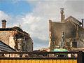 Blick von Ahornstraße auf Abriss Brauhaus in Genthin.JPG