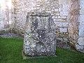 Block of Chilmark Stone, St Margaret of Antioch Church - geograph.org.uk - 331876.jpg