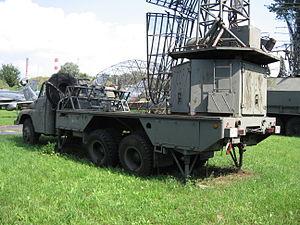Bożena radiolocation station at the Muzeum Polskiej Techniki Wojskowej in Warsaw (1).JPG
