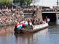 Boat 12 Leger, Marine, Landmacht boot, Canal Parade Amsterdam 2017 foto 1.JPG