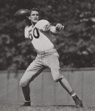 Purdue Boilermakers football - Bob DeMoss, the oldest member of the Cradle of Quarterbacks