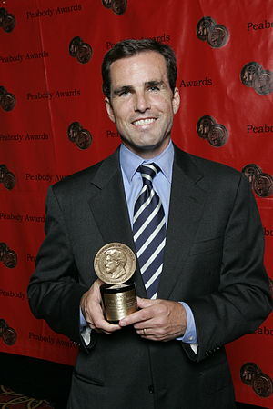 Bob Woodruff - Bob Woodruff at the 67th Annual Peabody Awards for Wounds of War-The Long Road Home for Our Nation's Veterans