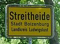 Boizenburg Streitheide Ortsschild 2008-05-23.jpg
