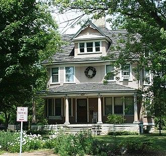 National Register of Historic Places listings in Ozaukee County, Wisconsin - Image: Bolens House Port Washington Jul 09