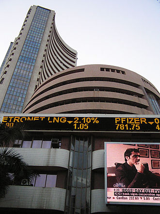 BSE SENSEX - Image: Bombay Stock Exchange 3