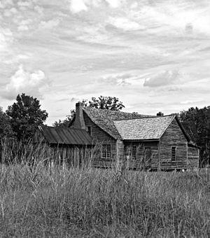 National Register of Historic Places listings in Saluda County, South Carolina - Image: Bonham House 1