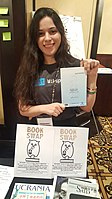 BookSwapping at Wikimania 2018 20180722 151806 (36).jpg