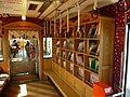 Bookshelves in Tama Densha 20110715.jpg