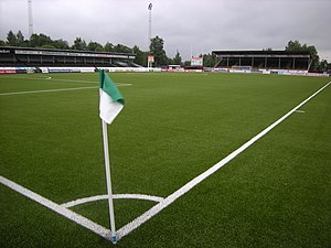 Swedish Football Division 1 Norra - Domnarvsvallen in Borlänge.