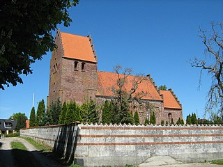 Borre, Denmark village on the Danish island of Møn