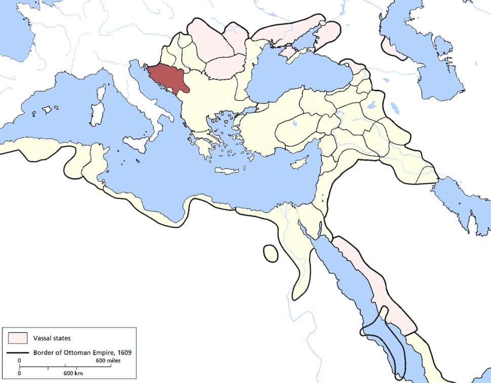 Bosnia Eyalet, Ottoman Empire (1609)