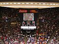 Boston College Eagles vs. University of the Pacific Tigers, First Round, NCAA Men's Basketball Tournament, Huntsman Center, University of Utah, Salt Lake City, Utah (114271783).jpg