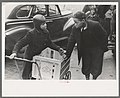 Boys in front of A&P market waiting for jobs to cart home groceries of shoppers, Chicago, Illinois.jpg