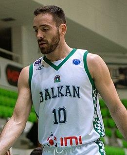 Bozhidar Avramov Bulgarian professional basketball player