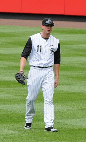 Brad Hawpe - Hawpe with the Colorado Rockies