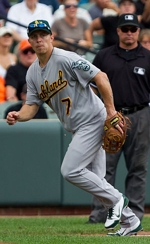 Brandon Inge - Inge during his tenure with the Oakland Athletics in 2012