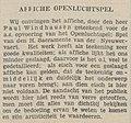 Bredasche Courant vol 147 no 123 Affiche Openluchtspel.jpg