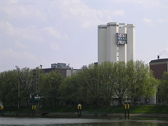 Beck's Brewery - The Beck's brewery in Bremen