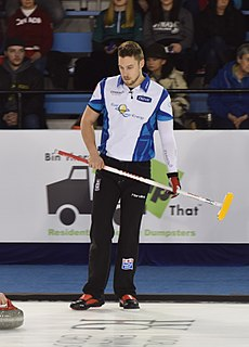 Brett Gallant Canadian curler