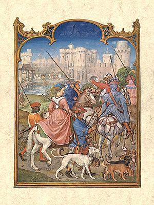 Alexander Bening - August by Alexander and Simon Bening, Biblioteca Marciana