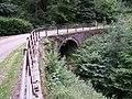 Bridge over the Kirk Burn at Kirkton Hill, Bentpath - geograph.org.uk - 1563981.jpg