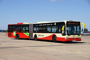 Brighton & Hove bus 103 (BX0 2YZP), 2010 North Weald bus rally (2).jpg