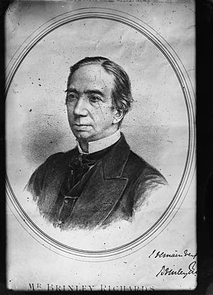 Henry Brinley Richards - Image: Brinley Richards (print) NLW3362451