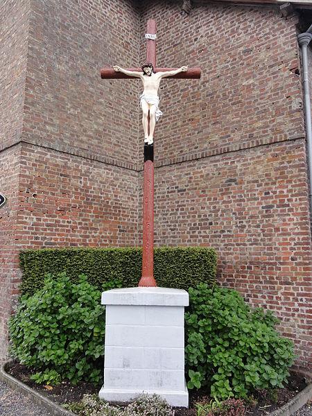 Brissay-Choigny (Aisne) croix de chemin sud