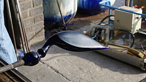 Bristol blue glass - Image: Bristol Blue Glass Heron Body