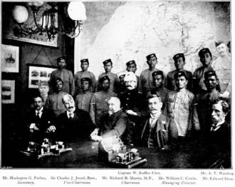 North Borneo Chartered Company - Board of directors of the company.