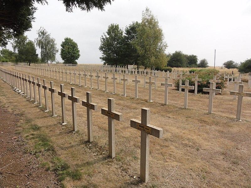 Brocourt-en-Argonne (Meuse) Nécropole nationale Brocourt-en-Argonne à Recicourt (Brocourt-en-Argonne a été un temps annexé à à Recicourt, d'où cet ajout à Recicourt)