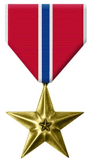 Bronze Star Medal cover