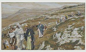 Jesus Traveling