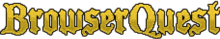 BrowserQuest logo, the name BrowserQuest in a stylized format