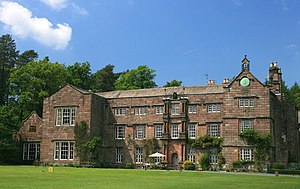 Browsholme Hall - Browsholme Hall from the front