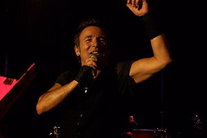 Bruce Springsteen in concert during 2009