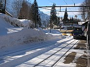 Bruenigpass Bahn Winter