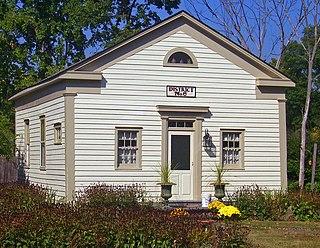Bruynswick School No. 8 Historic 1840 schoolhouse in Bruynswick, New York