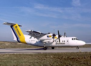 Brymon Airways - Brymon De Havilland Canada Dash 7 seen at Paris-Charles de Gaulle Airport in 1988