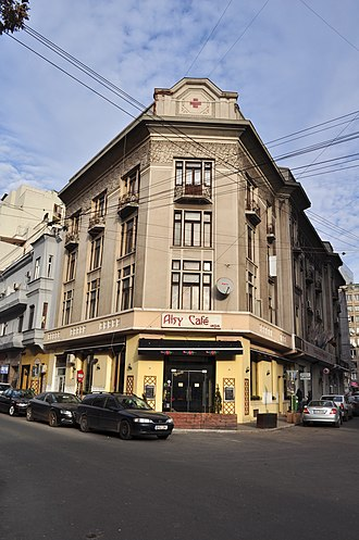 Healthcare in Romania - Headquarters of the National Red Cross Society, founded on 4 July 1876
