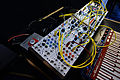 Buchla LEM4 218 Snoopy (LEM218 keyboard + LEM4 Snoopy (225h MIDI-CV interface, 202h Utilities, 292h Dual Dynamics Manager, 281h Dual Function Generator, 261e Complex Waveform Generator)) & Buchla LEM3 Spider (252e, etc) - 2015 NAMM Show.jpg