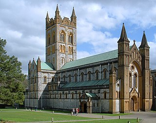 Buckfast Abbey Church in Devon, UK