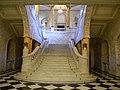 Bucuresti, Romania, Palatul Regal (Muzeul de National de Arta al Romaniei - Intrarea in Pavilionul Sala Tronului - Scara Voievozilor); B-II-m-A-19856.JPG