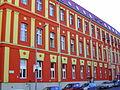 Budapest III. Lajos utca and Perc utca corner (Red House).JPG