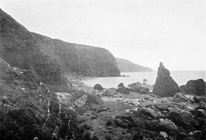Slates Hot Springs, California - Coast at Slates Hot Springs, 1900