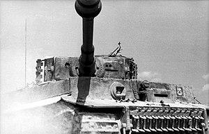 Gun mantlet - Image: Bundesarchiv Bild 101I 299 1805 10, Nordfrankreich, Panzer VI (Tiger I)