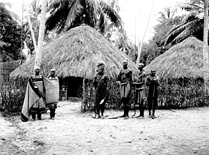 Sukuma people - A Sukuma village some time between 1906 and 1918.
