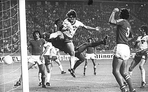 Unión Española - Leopoldo Vallejos, goalkeeper of Unión Española during 1972 and 1975