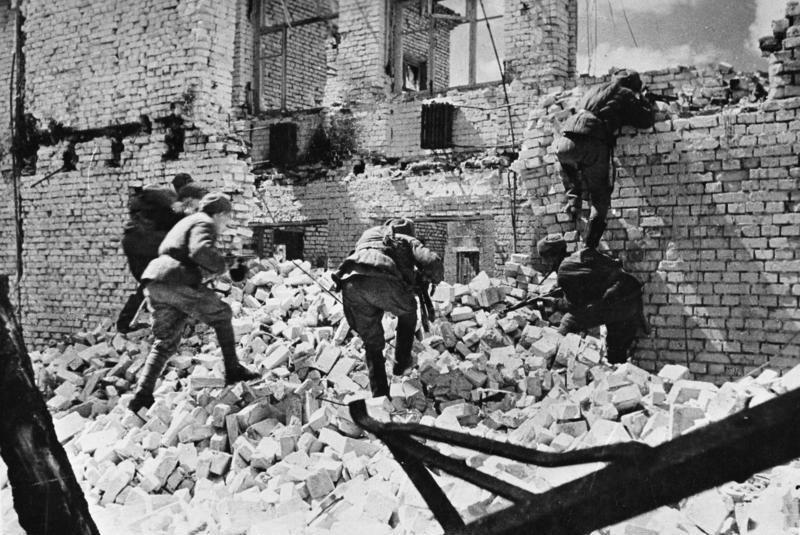 Bundesarchiv Bild 183-R74190, Russland, Kesselschlacht Stalingrad